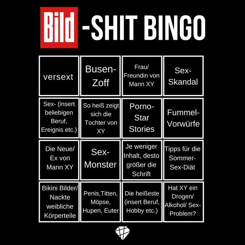 BILD-Shit Bingo